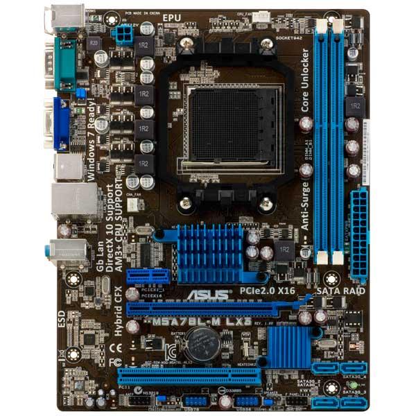 Материнская плата ASUS M5A78L-M LX3 процессоры под сокет am3