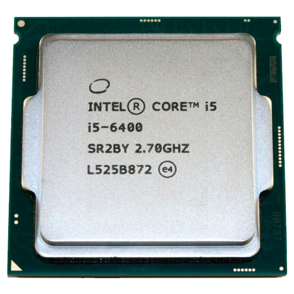 Процессор Intel Core i5-6400 процессор intel core i5 6400 skylake 2 7ghz 6mb lga1151 oem