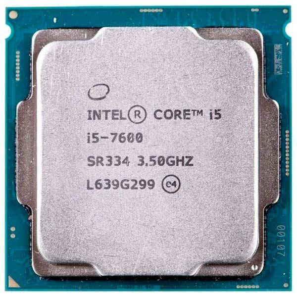 Процессор Intel Core i5-7600 компьютер hp prodesk 400 g4 intel core i5 7500 ddr4 8гб 1000гб intel hd graphics 630 dvd rw windows 10 professional черный [1jj50ea]
