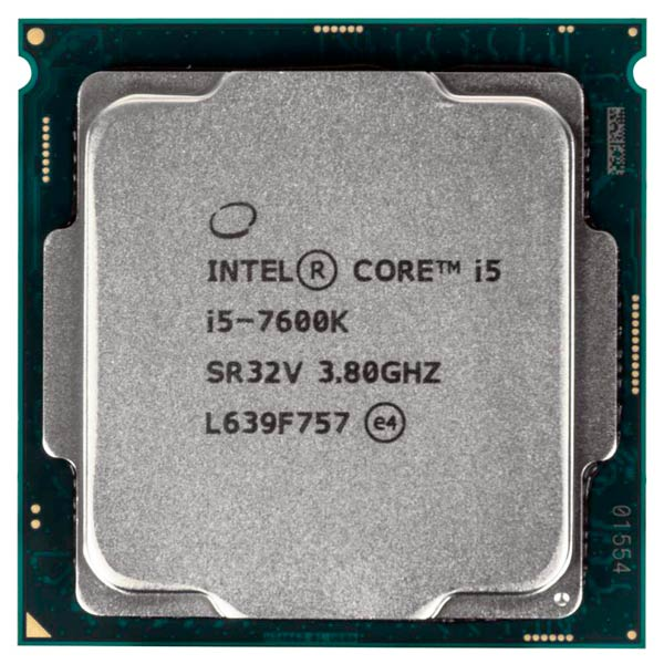 Процессор Intel Core i5-7600K компьютер hp prodesk 400 g4 intel core i5 7500 ddr4 8гб 1000гб intel hd graphics 630 dvd rw windows 10 professional черный [1jj50ea]