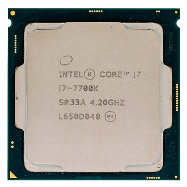 Процессор Intel Core i7-7700K процессор intel core i7 6700k box