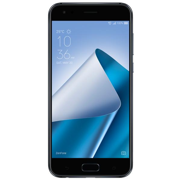 Смартфон ASUS ZenFone ZF4 ZE554KL 64Gb Black (1A085RU) asus zenfone zoom zx551ml 128gb 2016 black