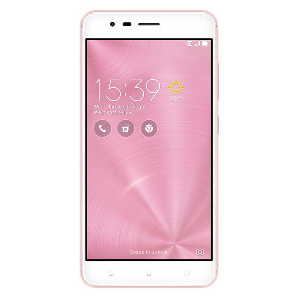 Смартфон ASUS ZenFone 3 Zoom ZE553KL 64Gb Pink (3I110RU) смартфон asus zenfone zoom zx551ml 128gb