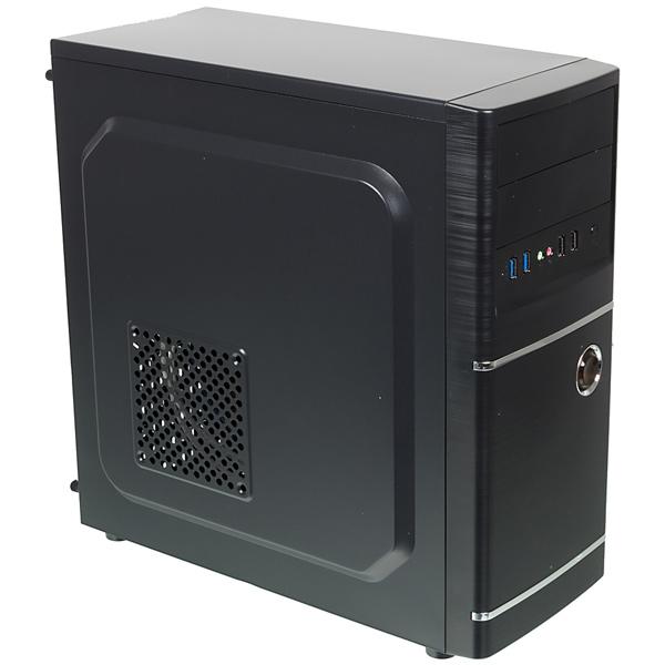 Корпус для компьютера Accord ACC-B301 корпус atx accord acc b307 midi tower без бп черный