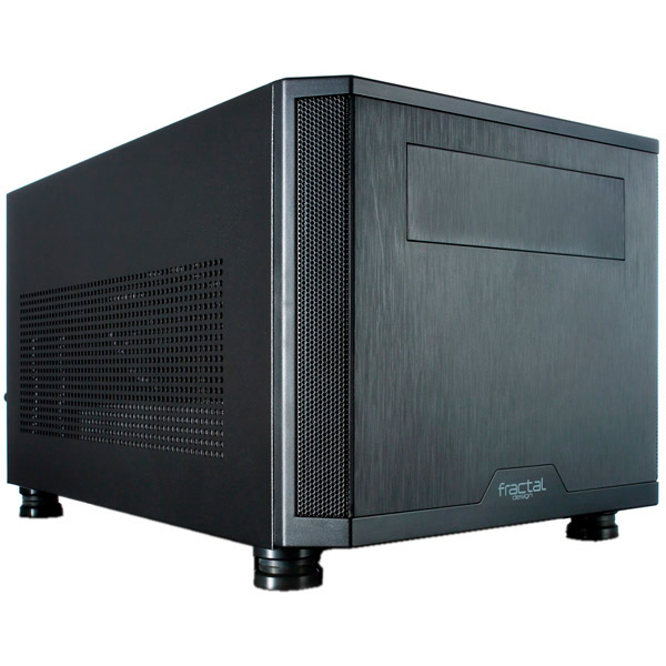 Корпус для компьютера Fractal Design Core 500 (FD-CA-CORE-500-BK) корпус matx fractal design define mini c tg mini tower без бп черный