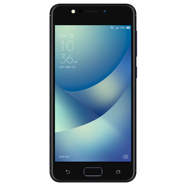 Смартфон ASUS ZenFone 4 Max ZC520KL 16Gb Black (4A032RU) клавиатура asus strix tactic pro cherry mx black black usb 90yh0081 b2ra00
