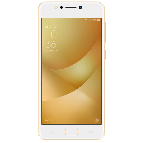 Смартфон ASUS ZenFone 4 Max ZC520KL 16Gb Gold (4G033RU) смартфон asus zenfone 3 deluxe zs570kl 64gb gold 2g008ru