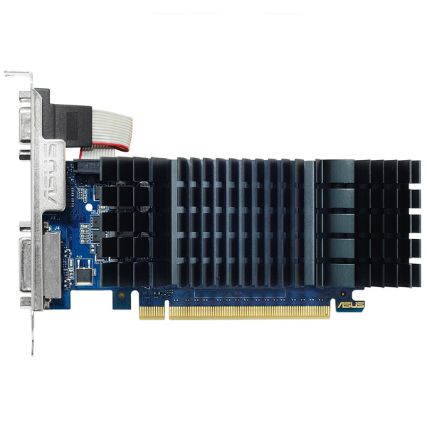 Видеокарта ASUS GeForce GT 730 2GB low profile silent видеокарта gigabyte geforce gt710 2gb gddr5