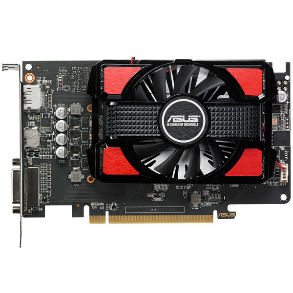 Видеокарта ASUS Radeon RX 550 2GB GDDR5 видеокарта asus rx 550 4gb rx550 4g