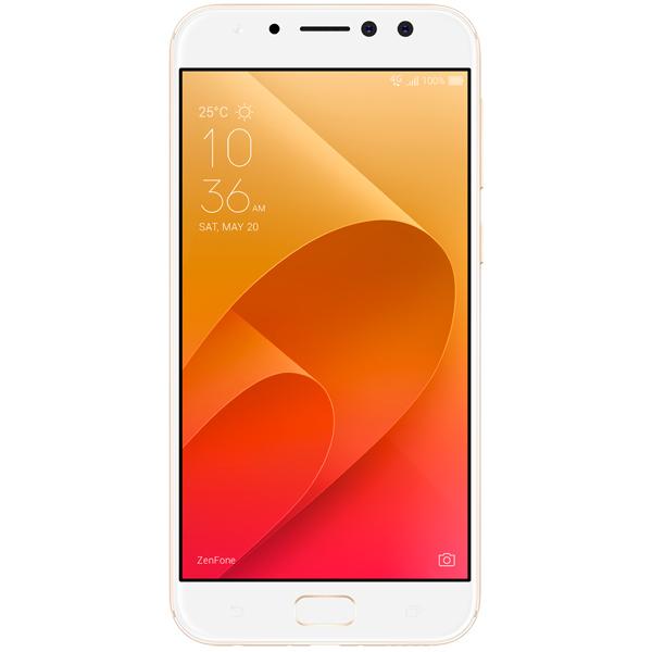Смартфон ASUS ZenFone 4 Selfie Pro ZD552KL 64Gb Gold (5G065RU) аксессуар защитная пленка asus zenfone 4 selfie pro zd552kl luxcase суперпрозрачная 55825