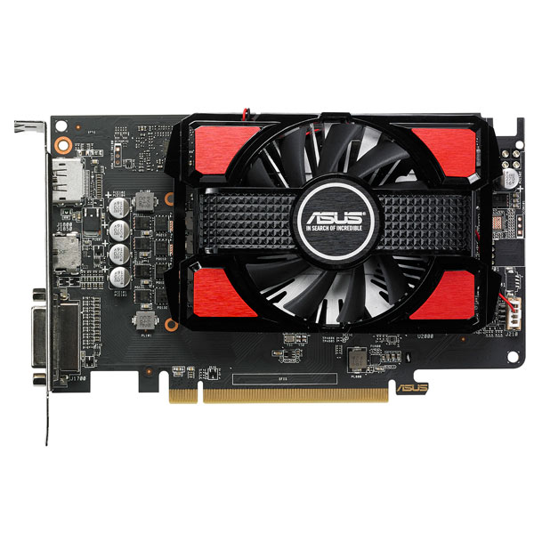 Видеокарта ASUS Radeon RX 550 4G GDDR5 видеокарта msi rx 570 gaming x 4g rx 570 4гб gddr5 retail