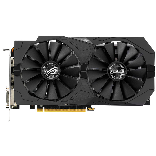 Видеокарта ASUS GeForce GTX 1050 Ti 4GB ROG STRIX
