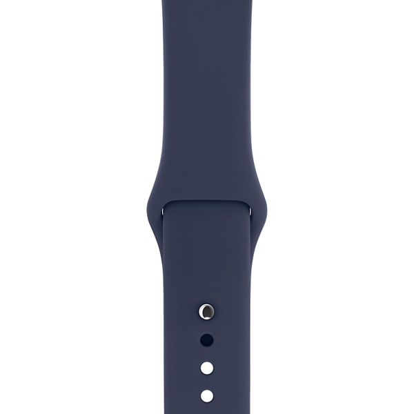 Ремешок Apple 42mm Midnight Blue Sport Band S/M&M/L (MLL02ZM/A) аксессуар браслет apple watch 42mm apres m l pink sand