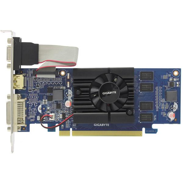 Видеокарта GigaByte GeForce 210 GV-N210D3-1GI GIGABYTE Видеокарта GigaByte GeForce 210 GV-N210D3-1GI