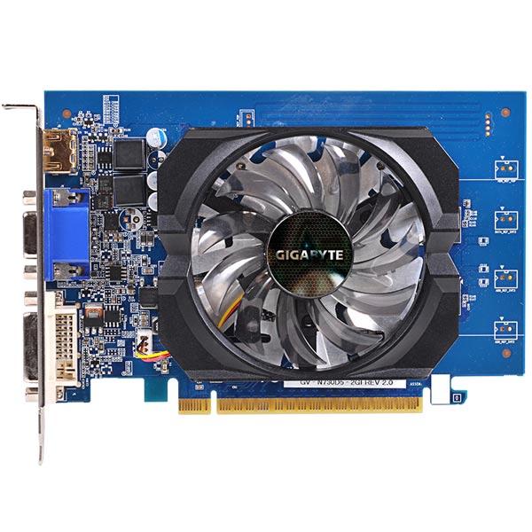 Видеокарта GigaByte GeForce GT 730 GV-N730D5-2GI GIGABYTE Видеокарта GigaByte GeForce GT 730 GV-N730D5-2GI видеокарта gigabyte gv n740d5oc 2gi v3 0