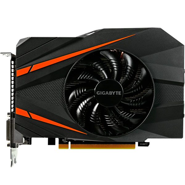 Видеокарта GIGABYTE GeForce GTX 1060 Mini ITX OC 6G видеокарта gigabyte geforce gt710 2gb gddr5