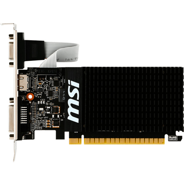 Видеокарта MSI GeForce GT 710 1GD3H LP