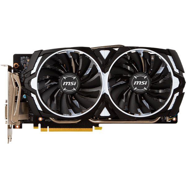 Видеокарта MSI GeForce GTX 1060 ARMOR 6G OCV1 geforce gtx 560 ti 2win