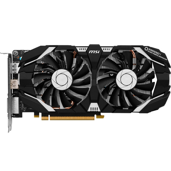 Видеокарта MSI GeForce GTX 1060 6GT OCV1 geforce gtx 560 ti 2win