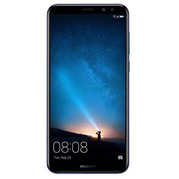 Смартфон Huawei NOVA 2i Aurora Blue (RNE-L21) смартфон huawei nova серебристый 51090xla