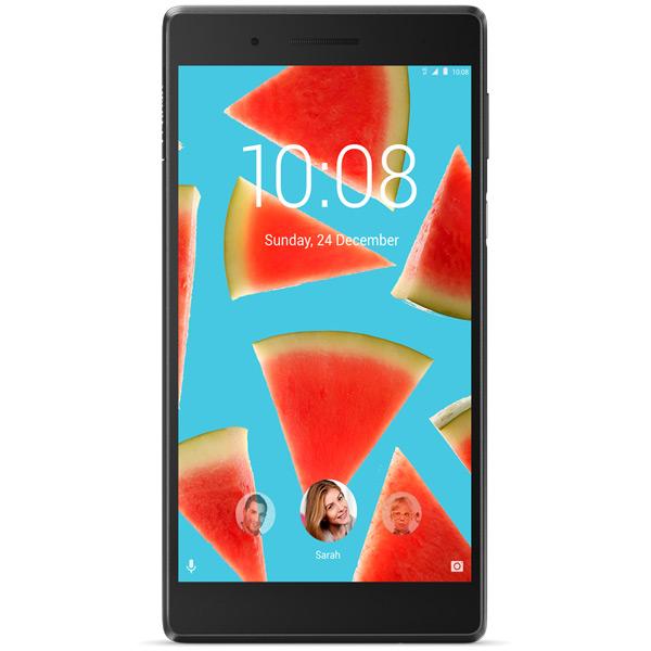 Планшет Lenovo Tab 4 Essen TB-7504X 7 16Gb LTE S/Bl(ZA380077RU) смартфон lenovo vibe c2 power 16gb k10a40 black