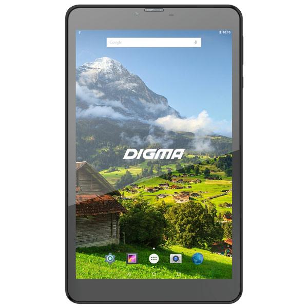 "Планшетный компьютер Android Digma Plane 8555M 8"" 16Gb 4G Black (PS8168ML)"