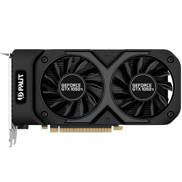 Видеокарта Palit GeForce GTX1050 TI DUAL OC видеокарта msi nvidia geforce gtx 1080ti geforce gtx 1080 ti armor 11g oc 11гб gddr5x oc ret
