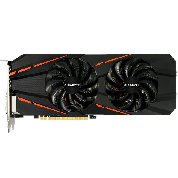 Видеокарта GIGABYTE GeForce GTX 1060 G1 Gaming 6G видеокарта msi geforce gtx 1060 6144mb gaming 6g dvi d hdmi 3xdp ret