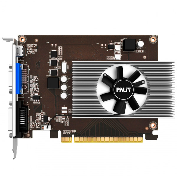 Видеокарта Palit GeForce GT730 4G видеокарта 6144mb msi geforce gtx 1060 gaming x 6g pci e 192bit gddr5 dvi hdmi dp hdcp retail