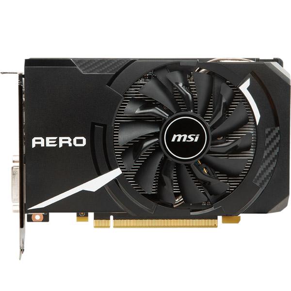 Видеокарта MSI GeForce GTX 1060 AERO ITX 3G OC