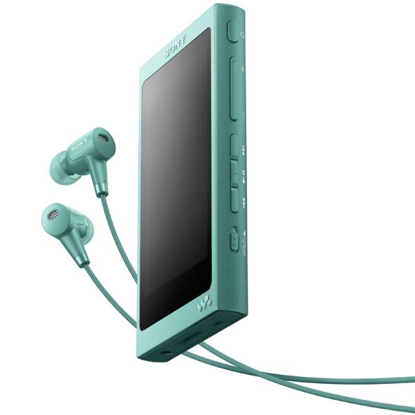 Портативный медиаплеер премиум Sony Walkman NW-A45HN/GM, 16Gb, Horizon Green sony walkman nw a800