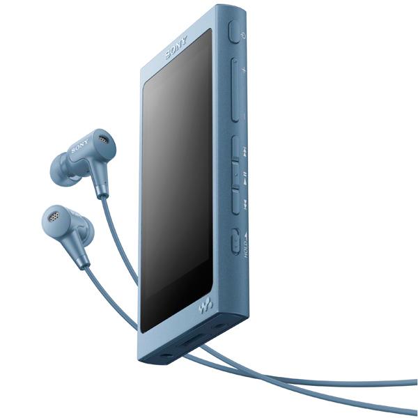 Портативный медиаплеер премиум Sony Walkman NW-A45HN/LM, 16Gb, Moonlit Blue sony walkman nw a800