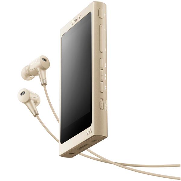 Портативный медиаплеер премиум Sony Walkman NW-A45HN/NM, 16Gb, Pale Gold sony walkman nw a800