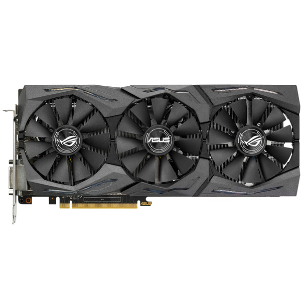 Видеокарта ASUS ROG Strix GeForce GTX 1060 6GB OC