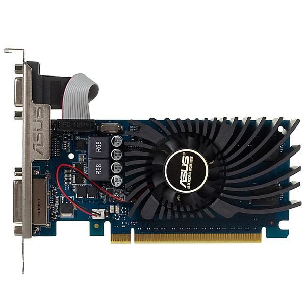 Видеокарта ASUS GeForce GT730 2GB GDDR5 видеокарта asus nvidia geforce gt 730 gt730 2gd5 brk 2гб gddr5 low profile ret
