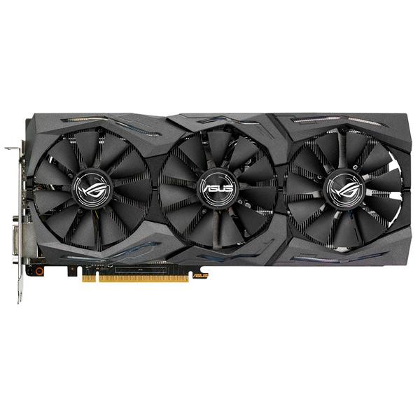 Видеокарта ASUS ROG Strix GeForce GTX 1070 8GB OC GDDR5