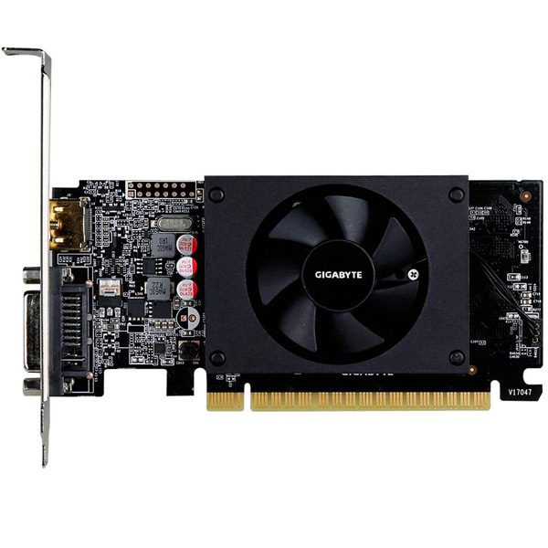 Видеокарта GIGABYTE GeForce GT710 2GB GDDR5 видеокарта gigabyte geforce gt710 2gb gddr5