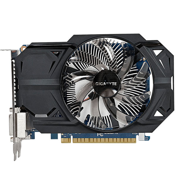 Видеокарта GIGABYTE GeForce GTX 750Ti 1GB GDDR5 OC (rev.2.0) видеокарта 1gb