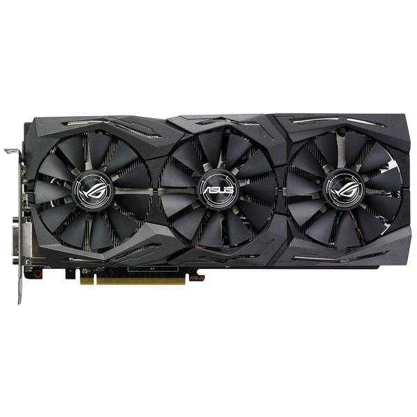 Видеокарта ASUS ROG Strix Radeon RX 580 8GB OC