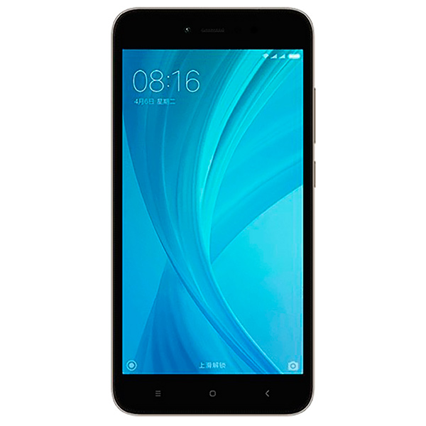 Смартфон Xiaomi Redmi Note 5A 16Gb Gray смартфон xiaomi redmi note 5a серый 5 5 16 гб lte wi fi gps 3g redmi note 5a 16gb gray