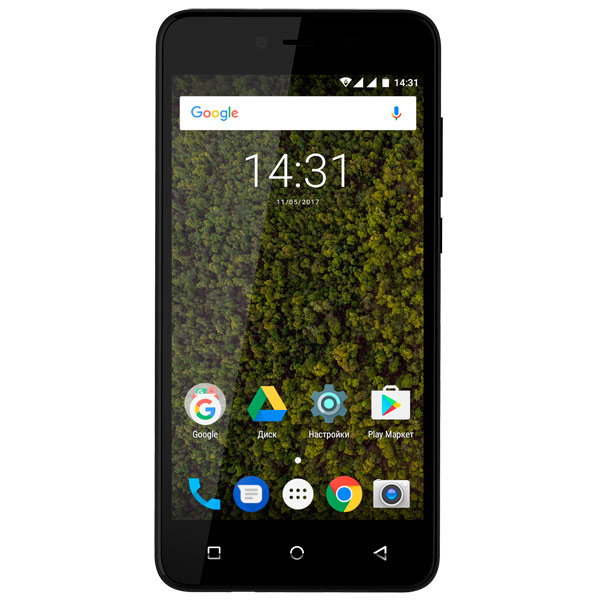 Смартфон Highscreen Easy Power Black смартфон lenovo vibe c2 power 16gb k10a40 black