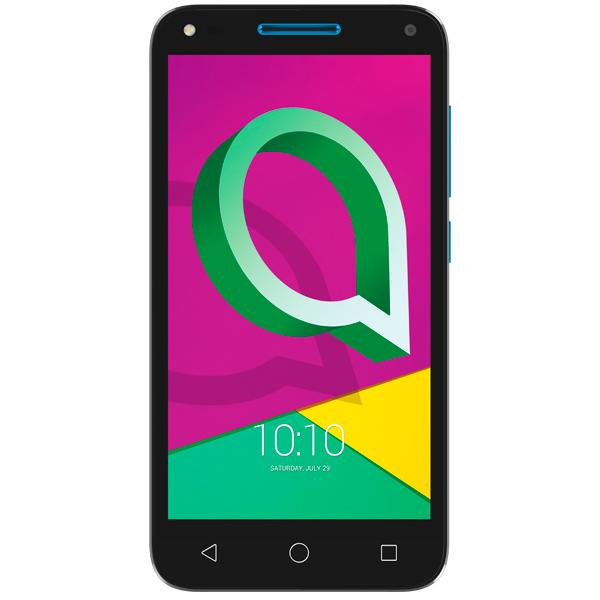 Смартфон Alcatel U5 3G DS Black + Sharp Blue (4047D) смартфон alcatel idol 5 4g ds metal blackb 6058d