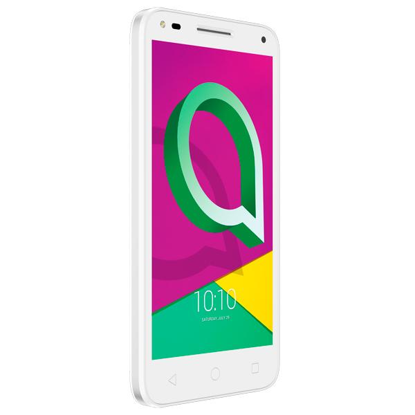 Смартфон Alcatel U5 3G DS White + Light Gray (4047D) смартфон alcatel idol 5 4g ds metal blackb 6058d