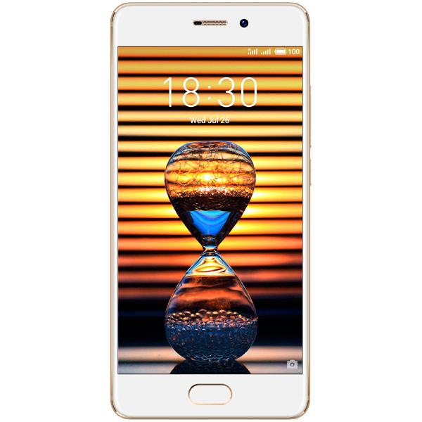 Смартфон Meizu Pro7 64Gb+4Gb Gold (M792H) аксессуар чехол meizu mx5 armor air slim gold gb f meimx5 gold