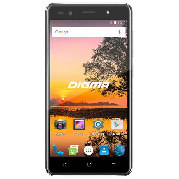 Смартфон Digma VOX S513 4G 16Gb Black смартфон fly fs512 nimbus 10 4g lte 8gb black