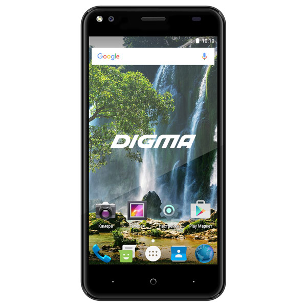 Смартфон Digma VOX E502 4G 16Gb Gray планшет digma plane 1601 3g ps1060mg black