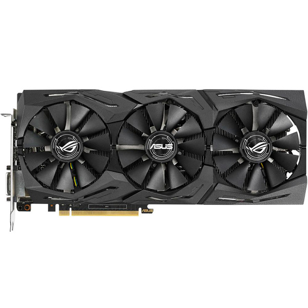 Видеокарта ASUS ROG Strix GeForce GTX 1070 Ti 8GB Advanced