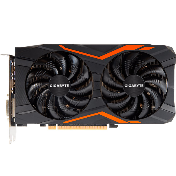 Видеокарта GIGABYTE GeForce GTX 1050 Ti Gaming 4G видеокарта msi geforce gtx 1050 ti gaming x 4g