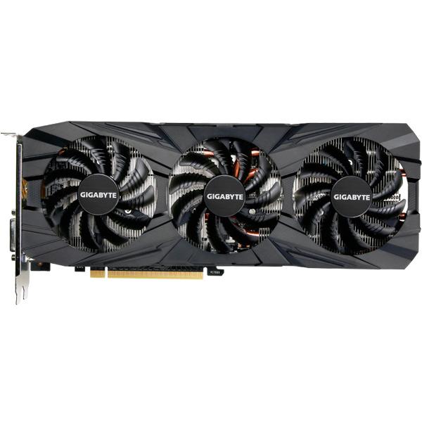 Видеокарта GIGABYTE GeForce GTX 1080 Ti Gaming OC 11G видеокарта 6144mb msi geforce gtx 1060 gaming x 6g pci e 192bit gddr5 dvi hdmi dp hdcp retail