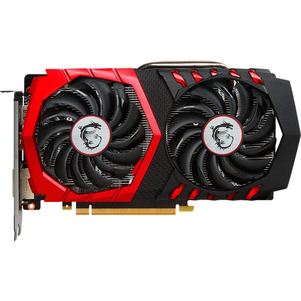 Видеокарта MSI GeForce GTX 1050 Ti Gaming X 4G